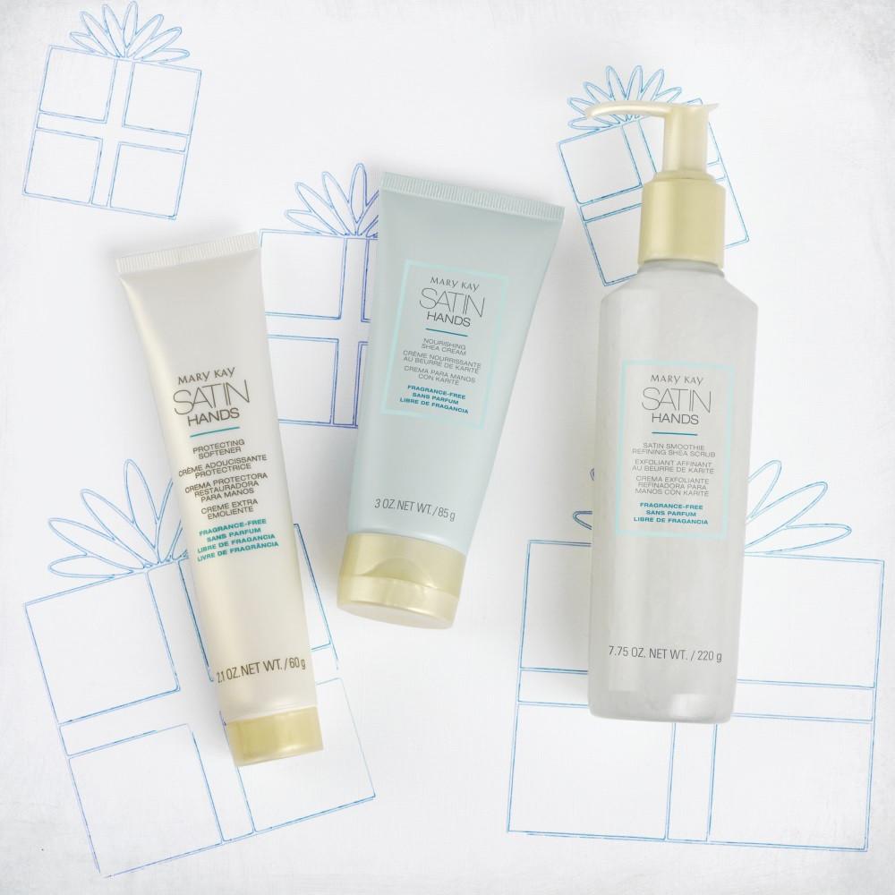 ԹԱՎՇՅԱ ՁԵՌՔԵՐ ՀԱՎԱՔԱԾՈՒ Satin Hands®  Pampering Set Fragrance Free